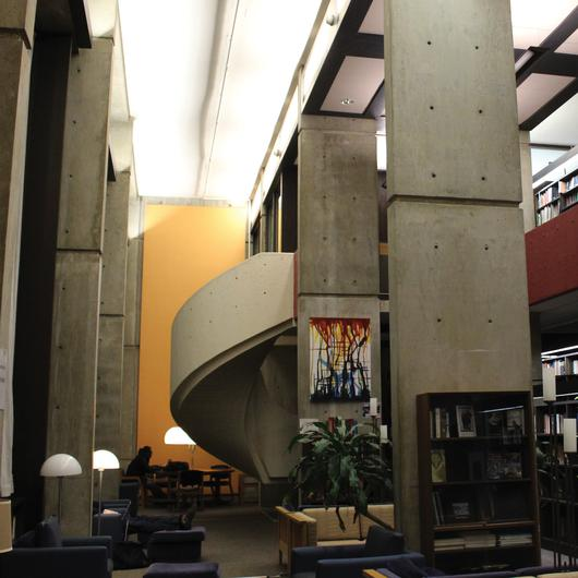Mather Library Harvard University Brutalism
