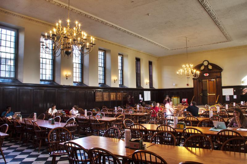 Winthrop the harvard crimson for House dining hall images